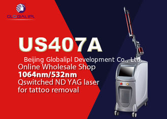 China Pigmentieren Sie Laser-Tätowierungs-Abbau-Maschine Abbau-Q geschaltete Nd-Yag 1064nm/532nm fournisseur