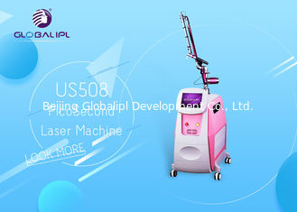 China Pico Laser Nd YAG Laser-Maschinen-Tätowierungs-Abbau-Haut-Therapie 1064nm/532nm fournisseur