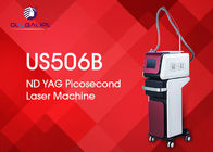 China Schönheits-Salon-Picosekunde Nd YAG Laser-Maschine 1500W für Tätowierungs-Abbau usine
