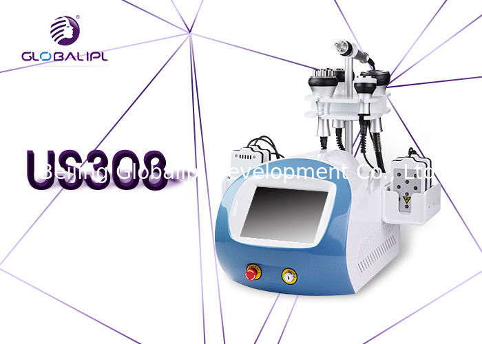 Cellulite Melting 6 In 1 Cavitation Machine / Rf Fat Reduction Machine