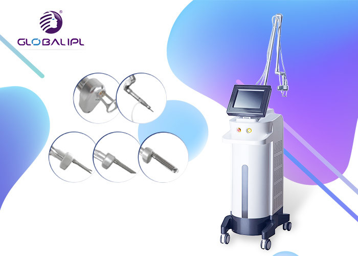 40w Vertical Fractional Co2 Laser For Dark Circles / Co2 Laser Machine Air Cooling