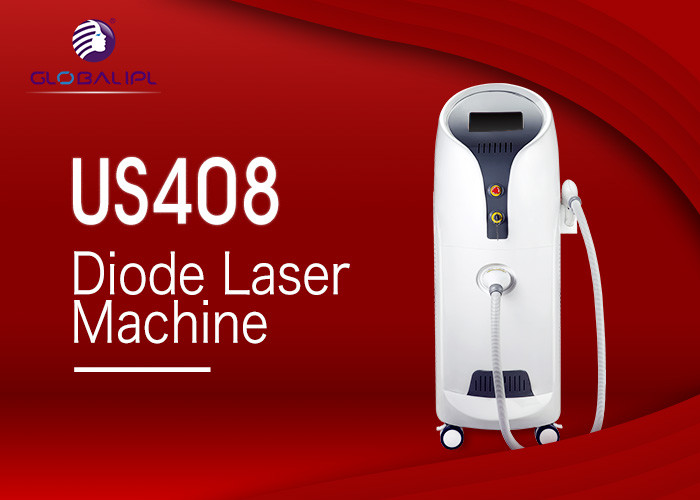 Permanent 808nm Diode Laser Hair Removal Machine 1-138J/Cm2 With CE Certified
