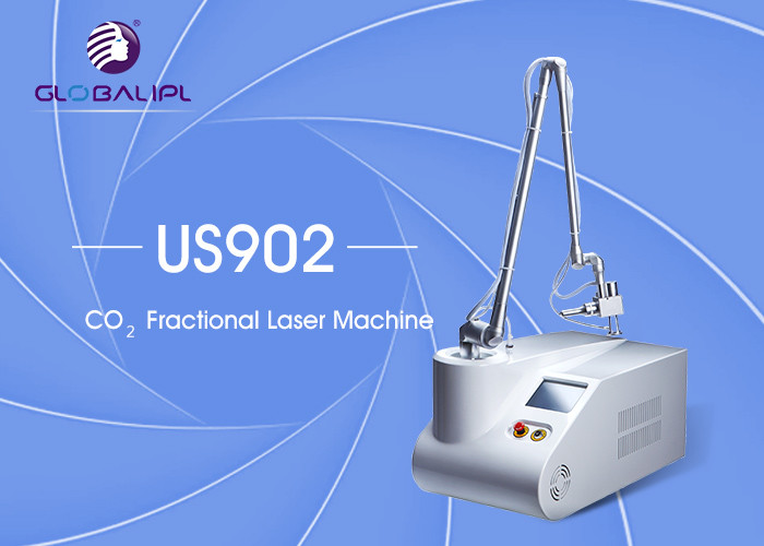Air Cooling Fractional Co2 Laser Treatment / Scar Removal Machine Long Lifetime