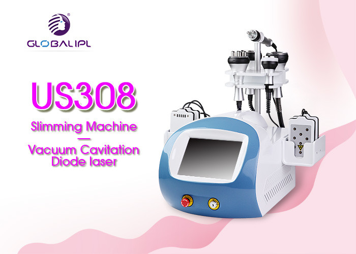 Body Slimming Non Invasive Lipo Machine / Diode Laser Rf Slimming Machine