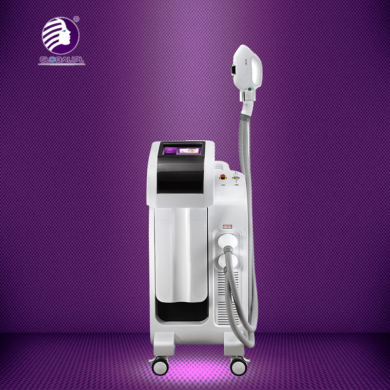 4 In 1 Hair Removal IPL RF Beauty Equipment 4H System IPL RF Elight And ND YAG Laser