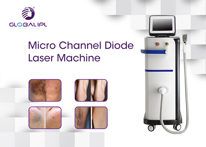 808nm Diode Commercial Laser Hair Removal Machine Permanent Micro Channel