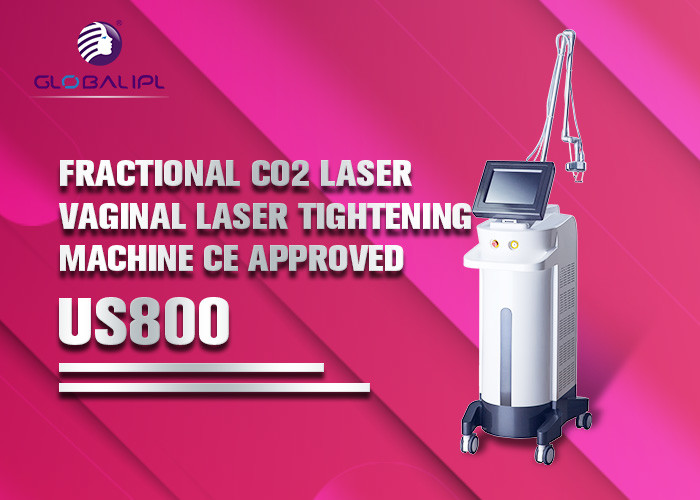 Co2 Laser Scar Removal Machine / Fractional Laser Equipment Painless Reliable Treatment