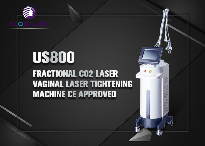 Scar Removal CO2 Fractional Laser Machine 30w 40w 50w With 5 Treatment Heads