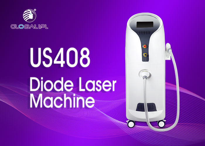 Permanent Painfree Diode Hair Removal Laser Machine 1 - 10Hz Frequency